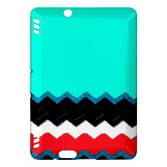 Pattern Digital Painting Lines Art Kindle Fire Hdx Hardshell Case