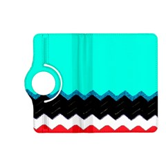 Pattern Digital Painting Lines Art Kindle Fire Hd (2013) Flip 360 Case