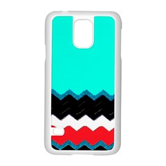 Pattern Digital Painting Lines Art Samsung Galaxy S5 Case (white)