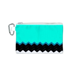 Pattern Digital Painting Lines Art Canvas Cosmetic Bag (s)
