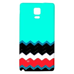 Pattern Digital Painting Lines Art Galaxy Note 4 Back Case