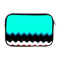 Pattern Digital Painting Lines Art Apple Macbook Pro 17  Zipper Case