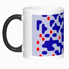 Digital Computer Graphic Qr Code Is Encrypted With The Inscription Morph Mugs