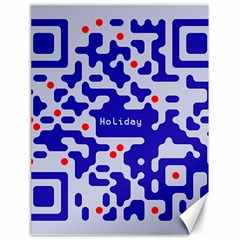 Digital Computer Graphic Qr Code Is Encrypted With The Inscription Canvas 18  X 24