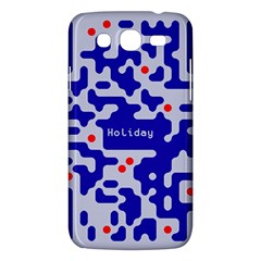 Digital Computer Graphic Qr Code Is Encrypted With The Inscription Samsung Galaxy Mega 5 8 I9152 Hardshell Case