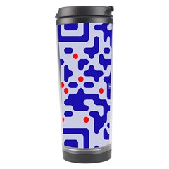 Digital Computer Graphic Qr Code Is Encrypted With The Inscription Travel Tumbler