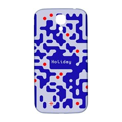 Digital Computer Graphic Qr Code Is Encrypted With The Inscription Samsung Galaxy S4 I9500/I9505  Hardshell Back Case