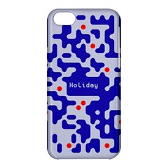 Digital Computer Graphic Qr Code Is Encrypted With The Inscription Apple Iphone 5c Hardshell Case