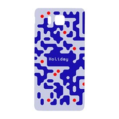 Digital Computer Graphic Qr Code Is Encrypted With The Inscription Samsung Galaxy Alpha Hardshell Back Case