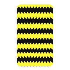 Yellow Black Chevron Wave Memory Card Reader