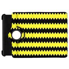 Yellow Black Chevron Wave Kindle Fire Hd 7