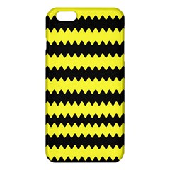 Yellow Black Chevron Wave Iphone 6 Plus/6s Plus Tpu Case