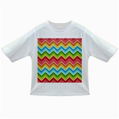 Colorful Background Of Chevrons Zigzag Pattern Infant/toddler T Shirts