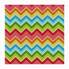 Colorful Background Of Chevrons Zigzag Pattern Medium Glasses Cloth