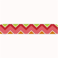 Colorful Background Of Chevrons Zigzag Pattern Small Bar Mats