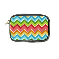 Colorful Background Of Chevrons Zigzag Pattern Coin Purse