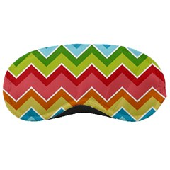 Colorful Background Of Chevrons Zigzag Pattern Sleeping Masks