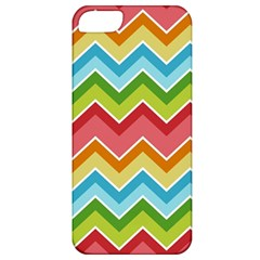Colorful Background Of Chevrons Zigzag Pattern Apple Iphone 5 Classic Hardshell Case