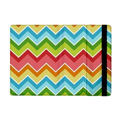 Colorful Background Of Chevrons Zigzag Pattern Apple Ipad Mini Flip Case