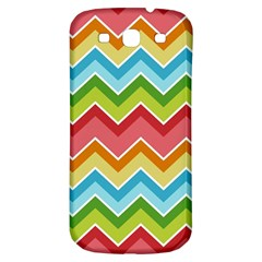 Colorful Background Of Chevrons Zigzag Pattern Samsung Galaxy S3 S Iii Classic Hardshell Back Case