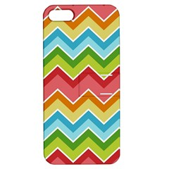 Colorful Background Of Chevrons Zigzag Pattern Apple iPhone 5 Hardshell Case with Stand