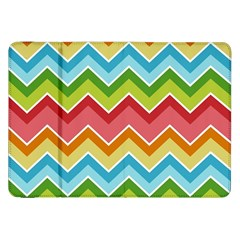 Colorful Background Of Chevrons Zigzag Pattern Samsung Galaxy Tab 8 9  P7300 Flip Case