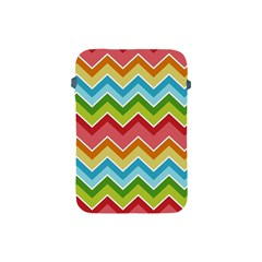 Colorful Background Of Chevrons Zigzag Pattern Apple Ipad Mini Protective Soft Cases