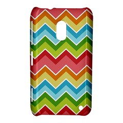 Colorful Background Of Chevrons Zigzag Pattern Nokia Lumia 620