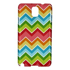Colorful Background Of Chevrons Zigzag Pattern Samsung Galaxy Note 3 N9005 Hardshell Case
