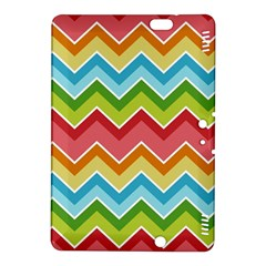 Colorful Background Of Chevrons Zigzag Pattern Kindle Fire Hdx 8 9  Hardshell Case