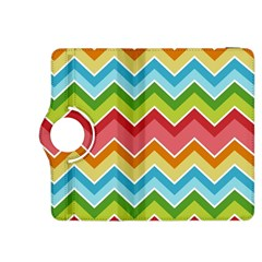 Colorful Background Of Chevrons Zigzag Pattern Kindle Fire Hdx 8 9  Flip 360 Case