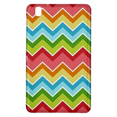 Colorful Background Of Chevrons Zigzag Pattern Samsung Galaxy Tab Pro 8 4 Hardshell Case