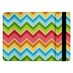 Colorful Background Of Chevrons Zigzag Pattern Samsung Galaxy Tab Pro 12.2  Flip Case