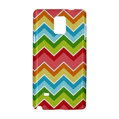 Colorful Background Of Chevrons Zigzag Pattern Samsung Galaxy Note 4 Hardshell Case