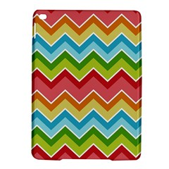 Colorful Background Of Chevrons Zigzag Pattern Ipad Air 2 Hardshell Cases