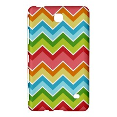 Colorful Background Of Chevrons Zigzag Pattern Samsung Galaxy Tab 4 (8 ) Hardshell Case