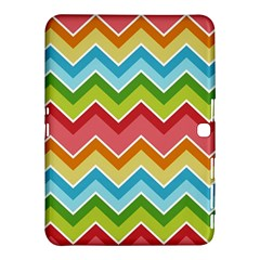 Colorful Background Of Chevrons Zigzag Pattern Samsung Galaxy Tab 4 (10 1 ) Hardshell Case