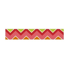 Colorful Background Of Chevrons Zigzag Pattern Flano Scarf (mini)
