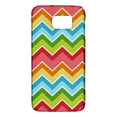 Colorful Background Of Chevrons Zigzag Pattern Galaxy S6