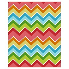 Colorful Background Of Chevrons Zigzag Pattern Drawstring Bag (small)