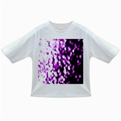 Bokeh Background In Purple Color Infant/Toddler T-Shirts