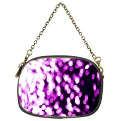 Bokeh Background In Purple Color Chain Purses (one Side)
