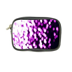 Bokeh Background In Purple Color Coin Purse