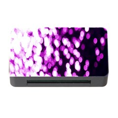 Bokeh Background In Purple Color Memory Card Reader With Cf