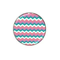 Chevron Pattern Colorful Art Hat Clip Ball Marker (4 pack)
