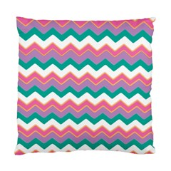 Chevron Pattern Colorful Art Standard Cushion Case (two Sides)