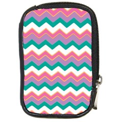 Chevron Pattern Colorful Art Compact Camera Cases