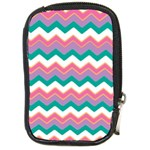 Chevron Pattern Colorful Art Compact Camera Cases Front