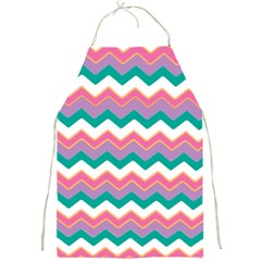 Chevron Pattern Colorful Art Full Print Aprons