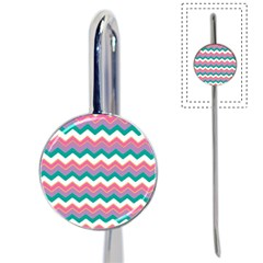 Chevron Pattern Colorful Art Book Mark